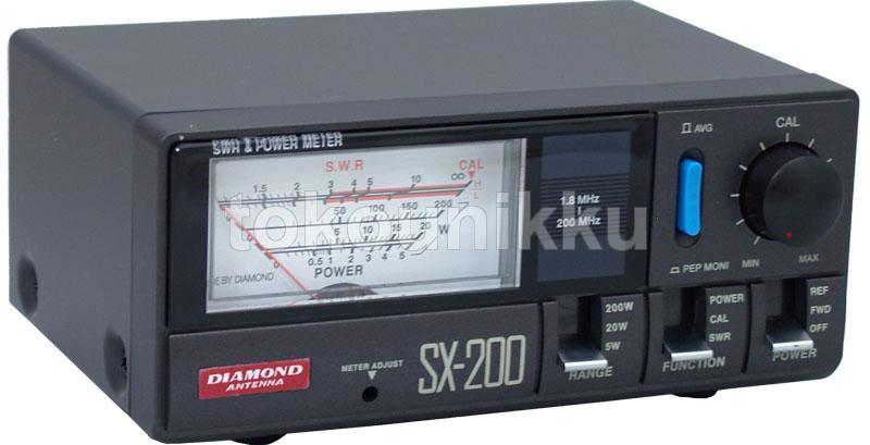 SWR Merk Diamond SX200 Power Meter