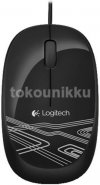 Logitech Mouse Wired M105 (Black) Optical