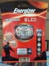 Lampu kepala Energizer 6 LED Headlight Head lamp