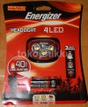 Lampu kepala Energizer 4 LED Headlight Head lamp