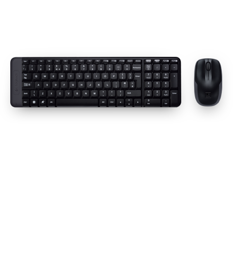 Logitech Combo Wireless  MK220 (Mouse +Keyboard)